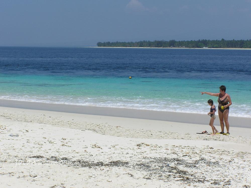 3つの島の中でも一番静かなのはギリ・メノー